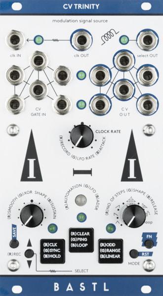 Bastl Instruments CV Trinity Eurorack Module | modulation module | front view