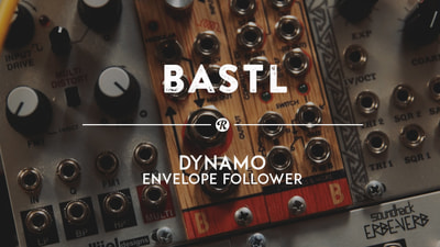Bastl Instruments Dynamo Eurorack Module | envelope follower, comparator, and voltage controlled switch | demo performance