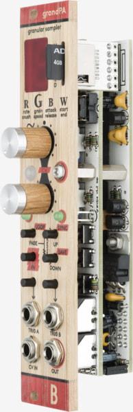 Bastl Instruments grandPA Eurorack Module | dual granular sampler | side view