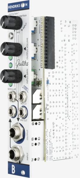Bastl Instruments Hendrikson Eurorack Module | instrument amplifier | side view