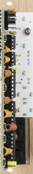 Bastl Instruments Hendrikson Eurorack Module | instrument amplifier | bottom view