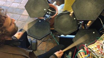 Bastl Instruments Kong Eurorack Module | dual drumpad interface | demo performance