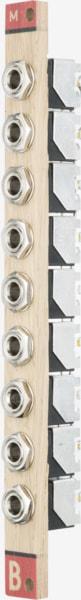 Bastl Instruments Multiple Eurorack Module | passive multiple | side view