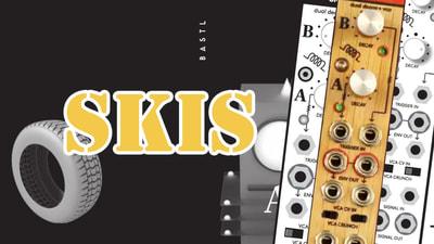 Bastl Instruments Skis Eurorack Module | dual decay envelope & VCA | demo performance
