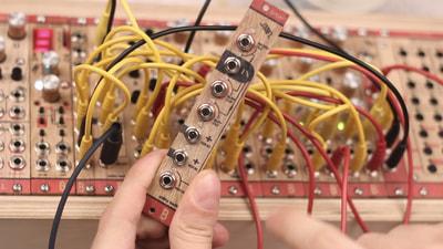 Bastl Instruments Spaghetti Eurorack Module | utility tool | demo performance