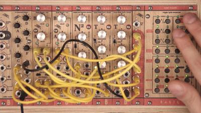 Bastl Instruments Tea Kick Eurorack Module | analog drum circuit | demo performance