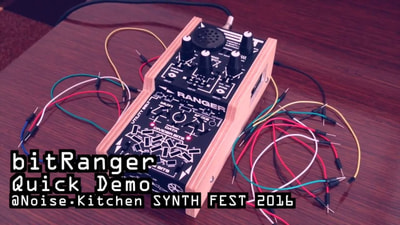 Bastl Instruments bitRanger | analog logic computer | demo performance