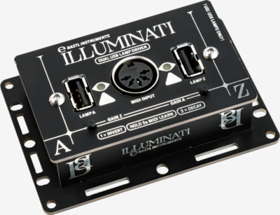 Bastl Instruments Illuminati | USB lamp driver | front view