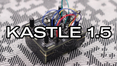 Bastl Instruments Kastle | mini modular synthesizer | demo performance