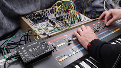 Bastl Instruments Midilooper | live modular synthesizer performance