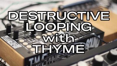 Bastl Instruments Thyme | demo synthesizer performance