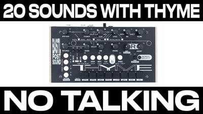 Bastl Instruments Thyme | live synthesizer performance