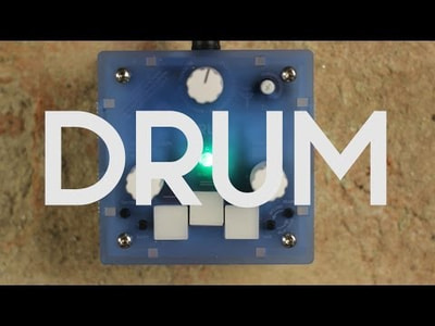 Bastl Instruments Trinity Drum | digital drum synthesizer | demo performance