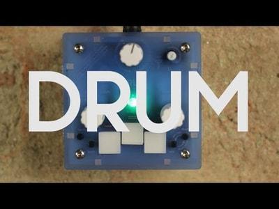 Bastl Instruments Trinity Drum | digital drum synthesizer | demo performance
