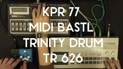 Bastl Instruments Trinity MIDI Bastl | MIDI module and converter | demo performance