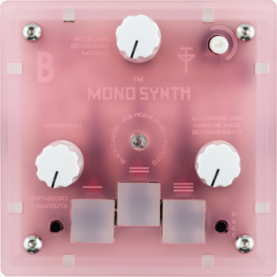 Bastl Instruments Trinity Mono Synth | digital monophonic synthesizer | front view