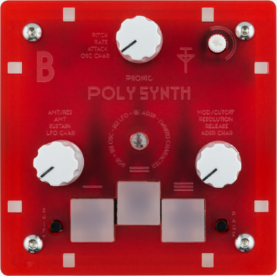 Bastl Instruments Trinity Poly Synth | digital polyphonic synthesizer | front view