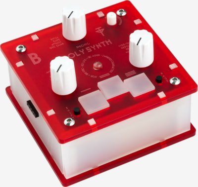 Bastl Instruments Trinity Poly Synth | digital polyphonic synthesizer | side view
