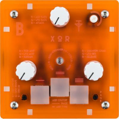 Bastl Instruments Trinity XOR | MIDI sound module | front view